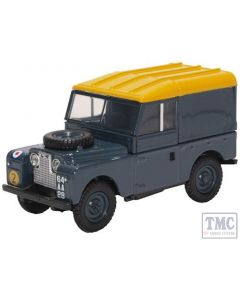 43LAN188021 Oxford Diecast 1:43 Scale Land Rover Series I 88'' Hard Top RAF