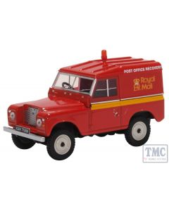 43LR2AS002 Oxford Diecast O Gauge Land Rover Series II SWB Hard Top Royal Mail Post Brehinol