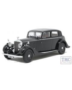 43R25003 Oxford Diecast 1:43 Scale Rolls Royce 25/30 - Thrupp & Maberley Black