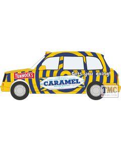 43TX4009 Oxford Diecast  LEVC TX4 Taxi Tunnocks