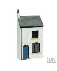 44-0123 Scenecraft OO Scale Low Relief Lucston Terrace House - White