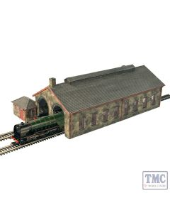 44-0157 Scenecraft OO Gauge Two Road Stone Engine Shed