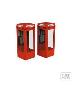 44-0503 Scenecraft OO Gauge K8 phone boxes (x2)
