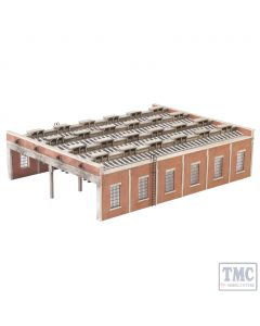 44-050 Scenecraft OO Gauge Four Road Engine Shed