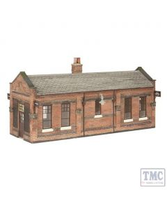44-116B Scenecraft OO gauge Great Central Waiting Room Brown & Cream