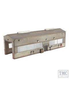 44-126 Scenecraft OO Gauge Single Road Servicing Shed