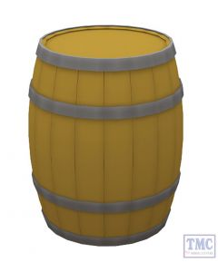 44-518 Scenecraft OO Gauge Wooden Barrels (x10)