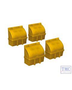 44-546 Scenecraft OO Gauge Grit Boxes x 4