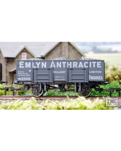 4F-038-001 Dapol OO Gauge 20t Steel Mineral Wagon Emlyn Anthracite