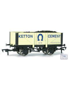 4F-051-007 Dapol OO Gauge 5 Plank Wagon Kelton Cement