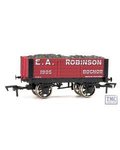 4F-052-005 Dapol OO Gauge 5 Plank Wagon 9' Wheelbase E A Robinson