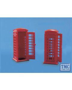 5006 Modelscene OO Gauge Telephone Kiosks
