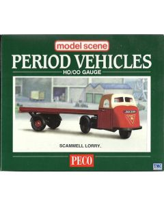 5015 Modelscene OO Gauge Road Vehicle Kits Scammell Mechanical Horse & Trailer