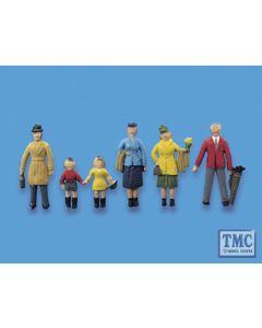 5057 Modelscene OO Gauge People Passengers Standing Set A