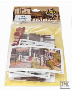 509 Ratio Occupation Crossing OO Gauge Plastic Kit