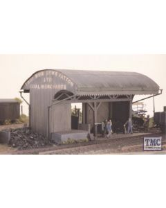 525 Ratio Coal/Timber Merchants (160mm x 105mm) OO Gauge Plastic Kit