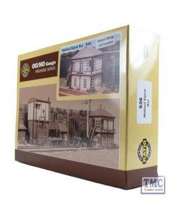 536 Ratio Midland Signal Box (130mm x 50mm) OO Gauge Plastic Kit