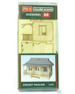 5400 Modelscene OO/HO Cricket Pavilion (Laser Cut Kit)