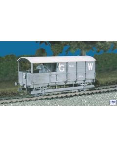 569 Ratio OO/HO GWR 20 ton 'TOAD' Brake Van (M/W)
