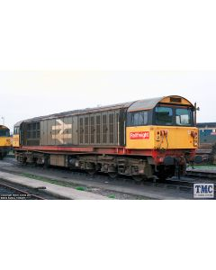 2D-058-002 Dapol N Gauge Class 58 020 Railfreight Red Revised