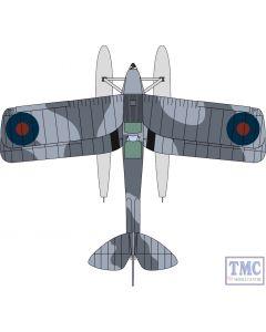 72TM009 Oxford Diecast 1:72 Scale DH82a Tiger Moth Floatplane Royal Navy T7187