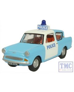 76105003 Oxford Diecast Anglia Police Panda 1/76 Scale OO Gauge