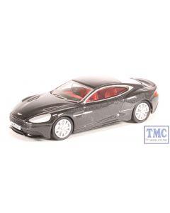 76AMV003 Oxford Diecast OO Gauge Aston Martin Vanquish Coupe Quantum Silver