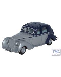 76BN6004 Oxford Diecast 1:76 Scale Bentley MkVI Midnight Blue -Shell Grey Bentley MK VI