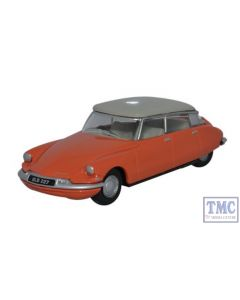 76CDS002 Oxford Diecast Citroen DS19 Coral Dove Grey 1/76 Scale OO Gauge