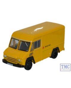 76CWT002 Oxford Diecast Commer Walk Thru British Rail Yellow