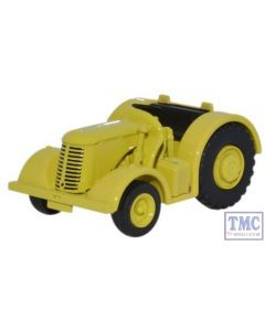 76DBT004 Oxford Diecast David Brown Tractor Yellow 1/76 Scale OO Gauge
