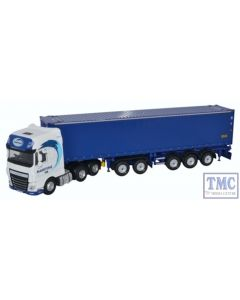 76DXF001 Oxford Diecast 1:76 Scale OO Gauge DAF XF Euro 6 CombiTrailer/Container Maritime Transport