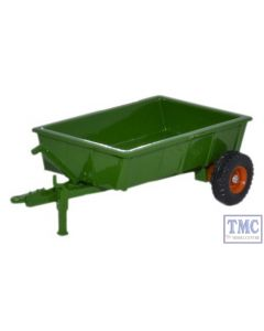 76FARM005 Oxford Diecast 1:76 Scale Farm Trailer Green
