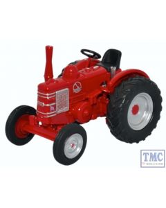 76FMT003 Oxford Diecast 1:76 Scale OO Gauge Field Marshall Tractor Red