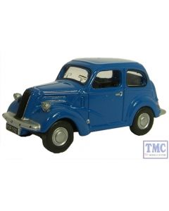 76FP001 Oxford Diecast 1:76 Scale Ford Popular 103E Blue Ford Popular