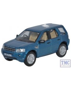 76FRE003 Oxford Diecast Land Rover Freelander Mauritius Blue 1/76 Scale OO Gauge
