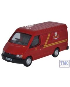 76FT3002 Oxford Diecast 1:76 Scale Ford Transit Mk3 Royal Mail Ford Transit MK 3