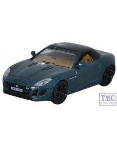 76FTYP005 Oxford Diecast 1:76 Scale OO Gauge Jaguar F Type British Racing Green Metallic