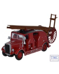 76LC003 Oxford Diecast 1:76 Scale Leyland Cub FK7 Leamington Fire Brigade