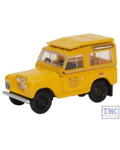 76LR2S004 Oxford Diecast 1:76 Scale Land Rover Series II SWB Post Office Telephones (Yellow)