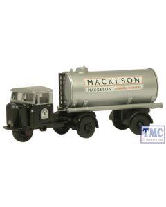 76MH013 Oxford Diecast Mackeson Mech Horse Tank Trailer 1/76 Scale OO Gauge