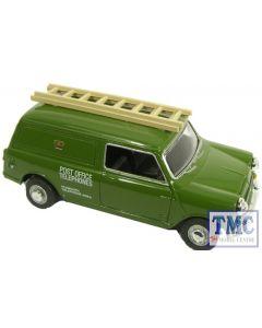 76MV013 Oxford Diecast Post Office Mini Van With Ladder 1/76 Scale OO Gauge