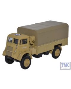 76QLD004 Oxford Diecast 1:76 Scale Bedford QLD RASC 30 Corps 8th Army 1942/3 Bedford QL