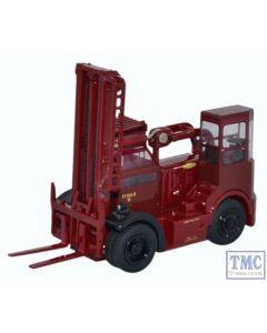 76SDF002 Oxford Diecast 1:76 Scale OO Gauge Shelvoke & Drewry Freightlifter British Rail (Crimson)