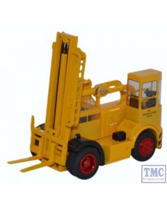 76SDF003 Oxford Diecast 1:76 Scale OO Gauge Shelvoke & Drewry Freightlifter British Rail (Yellow)