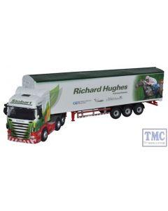 76SHL05WF Oxford Diecast 1:76 Scale Stobart - Richard Hughes Scania