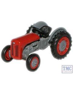 76TEA002 Oxford Diecast Red Ferguson TEA Tractor 1/76 Scale OO Gauge