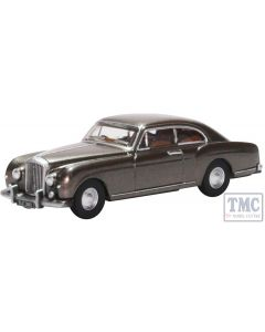 76BCF004 Oxford Diecast OO Gauge Bentley S1 Continental Fastback Gunmetal