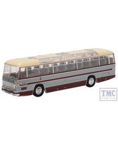 76DC002 Oxford Diecast OO Gauge Duple Commander MkII Grey Cars