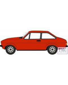 76ESC001 Oxford Diecast OO Gauge Ford Escort MkII Tango